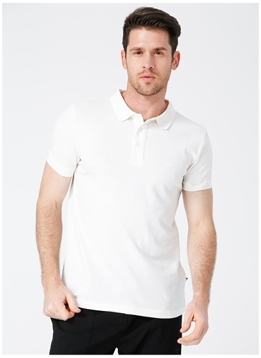 Bad Bear Bad Bear Erkek Koyu Beyaz Polo T-Shirt Beyaz